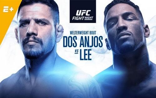 Где смотреть онлайн UFC Fight Night 152: Рафаэль Дос Аньос – Кевин Ли