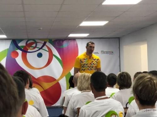 Владимир Кличко прочитал лекцию учителям физкультуры