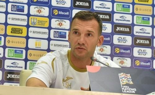 Шевченко назвал состав сборной Украины на матчи отбора Евро-2020
