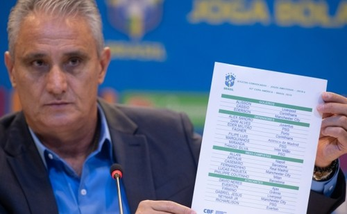 Фернандиньо, Коутиньо и Неймар - в заявке Бразилии на Копа Америка