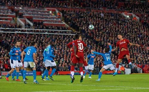 Ливерпуль – Наполи – 1:1. Видео голов и обзор матча