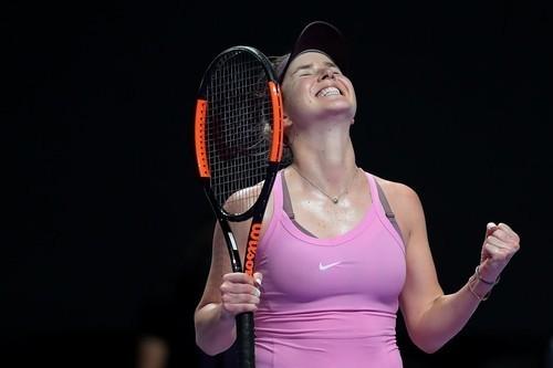 ВИДЕО. Свитолина выиграла голосование WTA в номинации Лучший удар