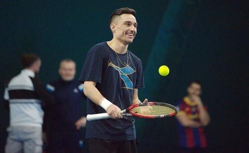 Долгополов заявился на турнир в Дохе