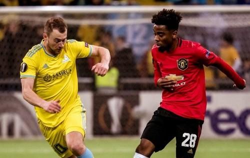 Астана прервала 15-матчевую беспроигрышную серию Ман Юнайтед в Лиге Европы