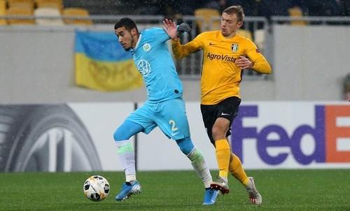 Александрия уступила Вольфсбургу и лишилась шансов на плей-офф ЛЕ