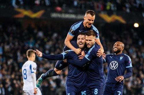 Динамо проиграло Мальме, пропустив решающий гол в компенсированное время