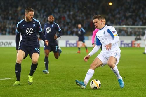 Динамо пропустило самый поздний для украинских клубов гол в еврокубках