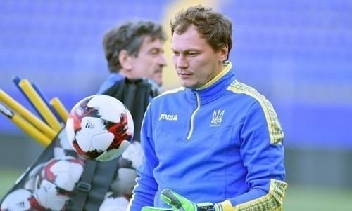 Андрей Пятов - в символической сборной по итогам отбора Евро-2020