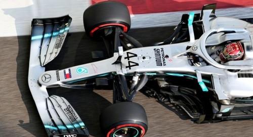 Хэмилтон уверенно выиграл квалификацию в Абу-Даби и прервал неудачную серию