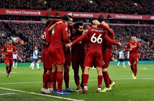 Ливерпуль победил Брайтон и оторвался от Манчестер Сити на 11 очков