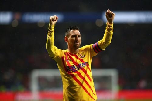 Месси забил 25 мячей в 27-ми матчах с Атлетико