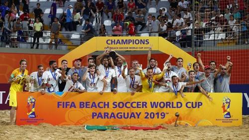 Пляжный футбол. Португалия обыграла Италию и стала чемпионом мира