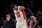 Кармело Энтони признан игроком недели в НБА, он год не мог найти клуб