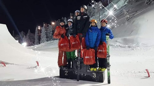 Украинские фристайлисты завоевали две бронзы на этапе Кубка Европы