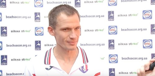 Неруш – лучший игрок в пляжный футбол 2019 года в Украине