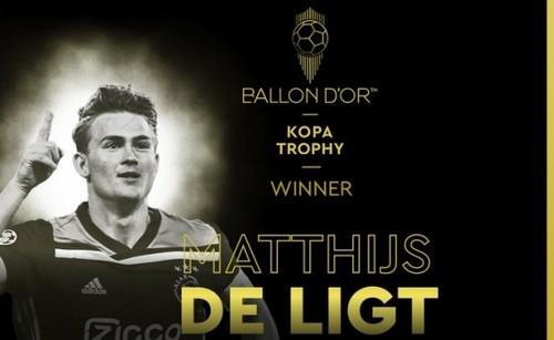 Маттейс де Лигт - лучший молодой игрок года