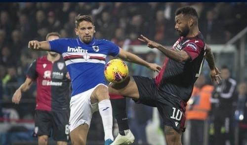 Кальяри в ярком матче с 7 голами обыграл Сампдорию и поднялся в топ-4