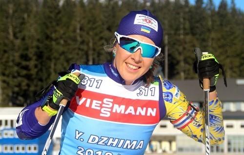 Юлия Джима получила травму после столкновения с другой биатлонисткой