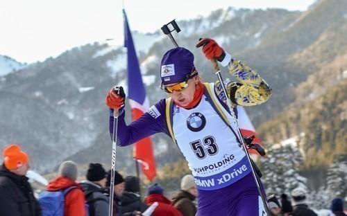 Пидгрушная поедет на второй этап Кубка IBU