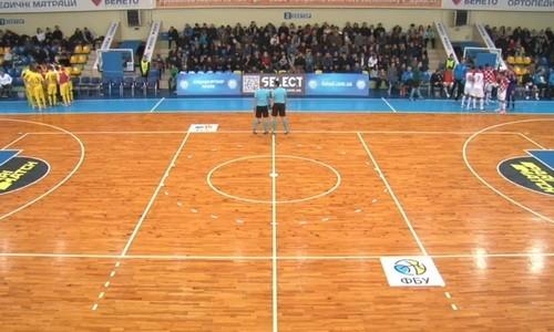 Сборная Украины проиграла Хорватии во втором товарищеском поединке