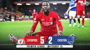 Ливерпуль забил 5 голов и победил Эвертон в мерсисайдском дерби