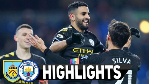 Бернли – Манчестер Сити – 1:4. Видео голов и обзор матча