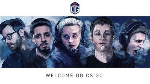 OG собрали свой состав по CS:GO
