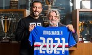 36-летний Квальярелла подписал новый контракт с Сампдорией