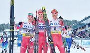 Лыжные гонки. Большунов выиграл скиатлон в Лиллехаммере