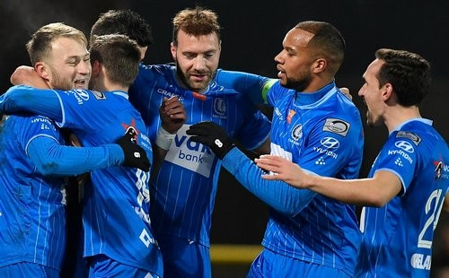 Гент – Зюлте-Варегем – 2:0. Текстовая трансляция матча
