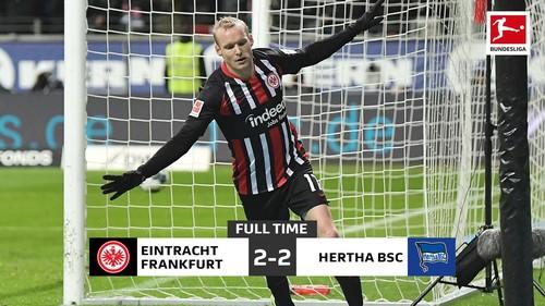 Айнтрахт спас ничью против Герты в матче Бундеслиги