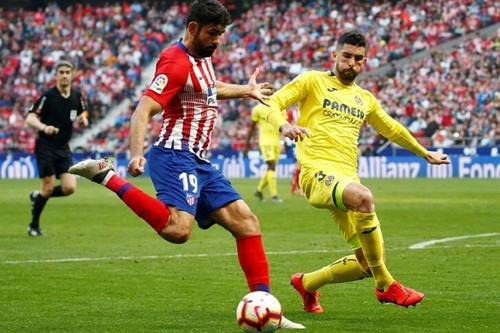 Мадридский Атлетико потерял очки против Вильярреала