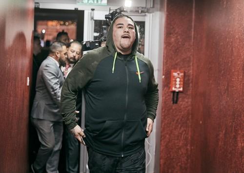 ВИДЕО. Энди Руис – Энтони Джошуа. Боксеры приехали на бой