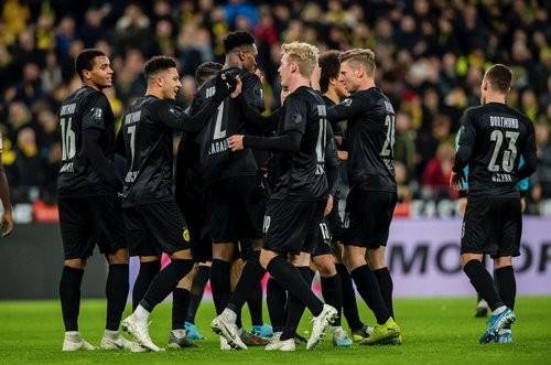 Боруссія Дортмунд — Фортуна — 5:0. Відео голів та огляд матчу