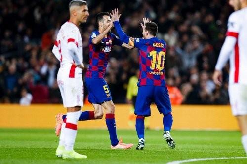 Хет-трик Месси позволил Барселоне разгромить Мальорку