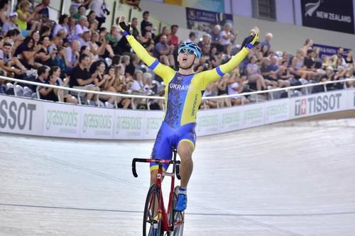 Украинец Гладыш выиграл золото на этапе Кубка мира по велотреку