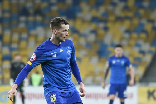 Кендзера провел 100-й матч за Динамо