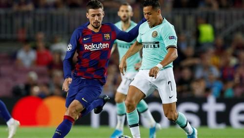 Смотреть матч футбол борселона против интер милан
