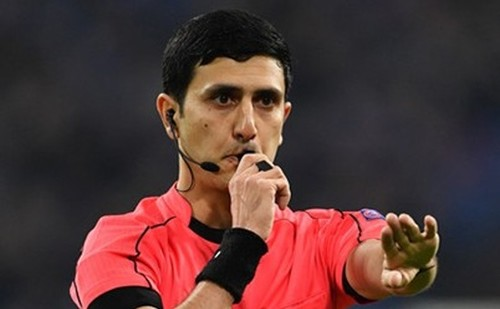 Динамо - Лугано: арбитры из Азербайджана