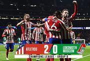 Атлетико Мадрид стал последним участником плей-офф ЛЧ, переиграв Локомотив