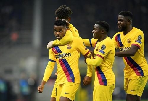 Интер – Барселона – 1:2. Видео голов и обзор матча