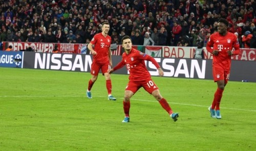 Группа B. Бавария бьет Тоттенхэм и закрывает группу шестью победами