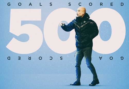 Манчестер Сити забил 500 голов под руководством Гвардиолы