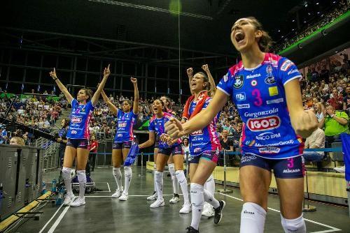 Женскую Лигу чемпионов выиграли волейболистки из Новары