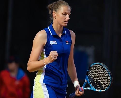 Каролина Плишкова – Йоханна Конта. Смотреть онлайн. LIVE трансляция