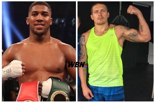 WBO зобов'язала Джошуа провести чемпіонський бій проти Усика