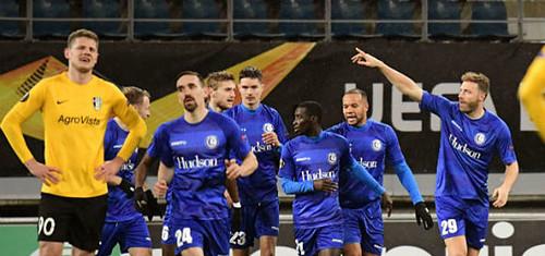 Александрия завершила еврокубковый сезон поражением от Гента