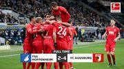 Аугсбург в гостях нанес поражение Хоффенхайму в результативном матче