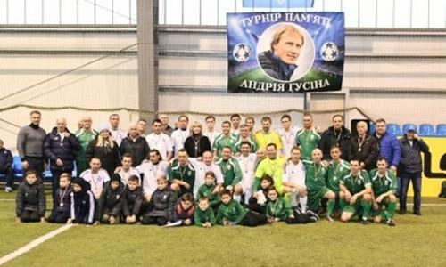 Ветераны Динамо и Карпат провели матч памяти Андрея Гусина