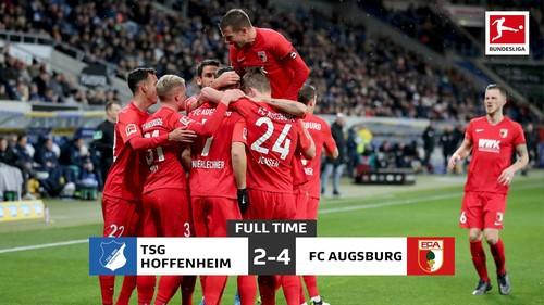 Аугсбург в гостях завдав поразки Хоффенхайма в результативному матчі